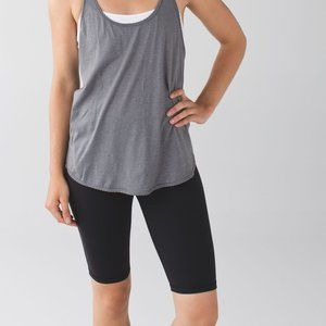 Lululemon Tall High Rise Groove Short in Black